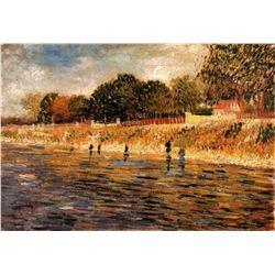 Van Gogh - The Banks Of The Seine