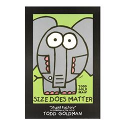 Size Does Matter by Goldman, Todd
