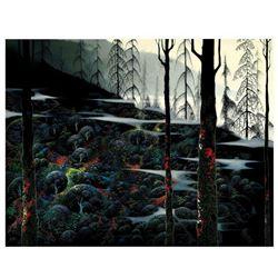 Dawns First Light by Eyvind Earle (1916-2000)