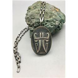 Hopi Pendant on a Handmade Chain