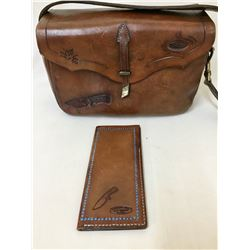 Leather Bag and Wallet by Jack Barnett