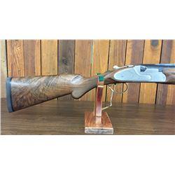 Engraved Weatherby Athena 12 Gauge Shotgun