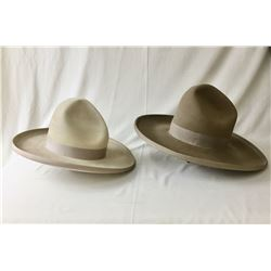 Two Early 1900s Stetson Hats