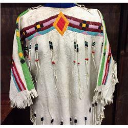 Vintage Plains Beaded Dress