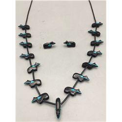 Rignie Boone Zuni Fetish Necklace Set