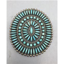 1970s Zuni Pin Pendant