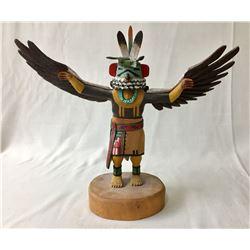 Eagle Dancer Kachina by Jerry Roy