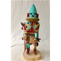 Hopi Aholi Kachina by Talahytewa