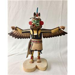 Hopi Eagle Kachina by Talahytewa