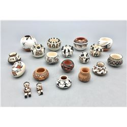 Group of Miniature Pottery