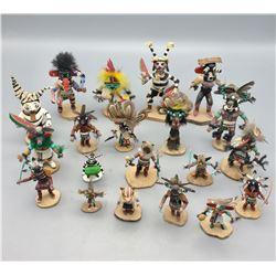 Group of 20 Kachinas