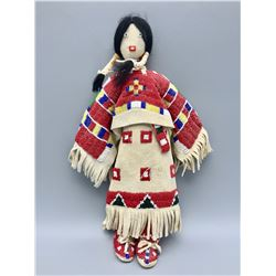 Hand Beaded Vintage Sioux Doll