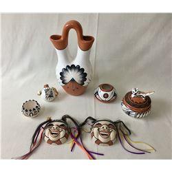 Group of Seven Pueblo Pots