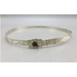 Sterling Silver Hat Band by Diablo