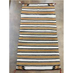 Vintage Double Saddle Blanket Textile