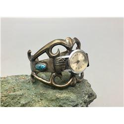 Vintage Sandcast Watch Bracelet