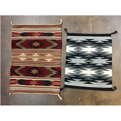 Two Navajo Textiles