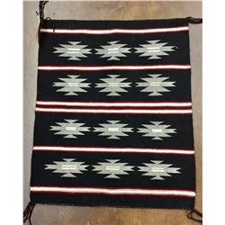 Navajo Textile by Lonetta Flatrock