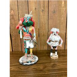 Two Vintage Hopi Kachinas