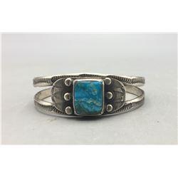 Vintage Handmade Turquoise Bracelet