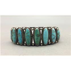 Older Eight Stone Turquoise Bracelet