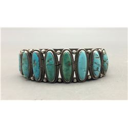 Older Eight Stone Turquoise Bracelet