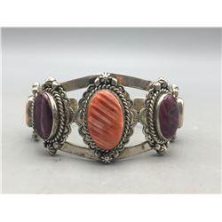 Jimmy Secatero Spiny Oyster Bracelet