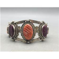 Jimmy Secatero Spiny Oyster Bracelet