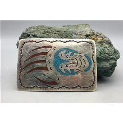 Vintage Navajo Belt Buckle