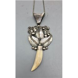 Navajo Pendant with Ivory