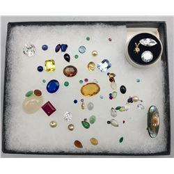 Precious and Semi Precious Stones from Gold Jewelry