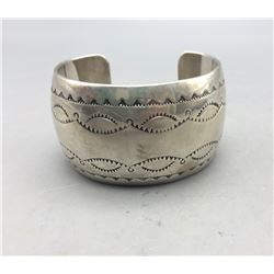Sterling Silver Hollowware Bracelet