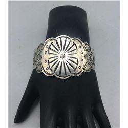 Vintage Stamped Sterling Silver Bracelet
