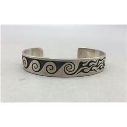 Hopi Bracelet by Franklin Namingha
