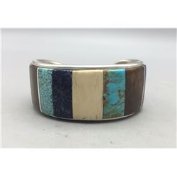 Unique Hopi Bracelet - Marlin Honhonya