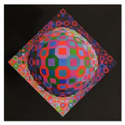Planetary by Vasarely (1908-1997)