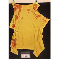 BAD BOYS FOR LIFE SCREEN MATCHED BLOODY SHIRT CUT OFF MIKE LOWREY IN HOSPITAL