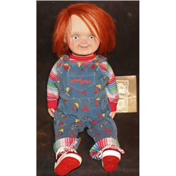 "CULT OF CHUCKY ""SCREEN MATCHED"" GOOD GUYS DOLL MADELEINE CARRIES AROUND"