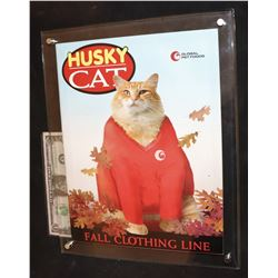 ANGER MANAGEMENT 2003 SCREEN USED HUSKY CAT POSTER IN ACRYLIC DISPLAY