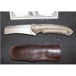 KINGSMAN THE SCREEN USED STUNT KNIFE 3 W/ SHEATH