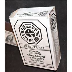 LOST DHARMA INITIATIVE MACARONI AND CHEESE SUPPER