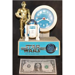 STAR WARS VINTAGE CLOCK FROM 70's
