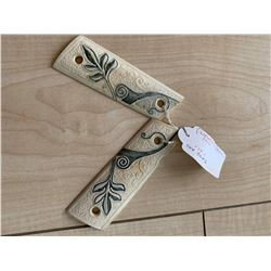 WANTED ANGELINA JOLIE SCREEN MATCHED FOX IVORY GUN GRIPS