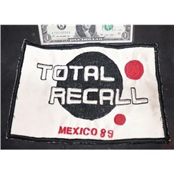 TOTAL RECALL 1990 ORIGINAL PRODUCTION CAST PATCH