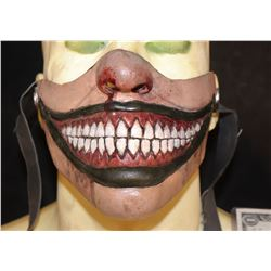 AMERICAN HORROR STORY FREAKSHOW TWISTY MASK STUNT USED IN COMMERCIAL TRAILERS