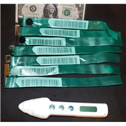 THE CRAZIES HERO THERMOMETER AND LOT OF 7 TESTED BRACELETS