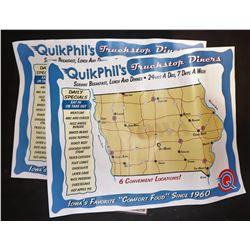 THE CRAZIES QUICK PHIL'S TRUCK STOP MAP LOT OF 2