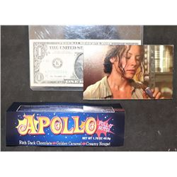 LOST APOLLO BAR UNUSED WRAPPER