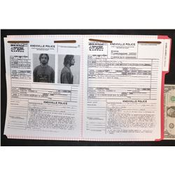 LOST SAWYER'S SCREEN MATCHED POLICE FILE