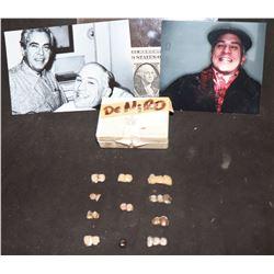 THE UNTOUCHABLES SCREEN USED ROBERT DENIRO TEETH WORN AS AL CAPONE